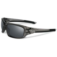 Oakley Valve Polarized Sunglasses - Matte Black Smoke/Black Iridium