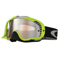 Oakley Crowbar MX Goggles - Bio Hazard Green/Black Iridium