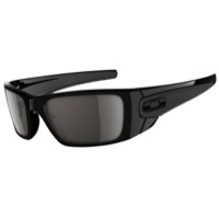 Oakley Fuel Cell Sunglasses - Polished Black/Matte Black/Warm Grey