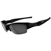 Oakley Flak Jacket Sunglasses - Jet Black/Black Iridium