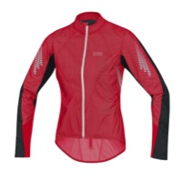 Gore Xenon 2.0 WINDSTOPPER AS Women's Jacket - Rich Red/Black