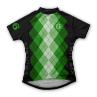 Twin Six Womens The Argyle Jersey - Green