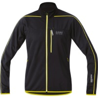 Gore Countdown Light Jacket - Raven Brown/Sulphur Yellow