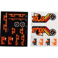 Fox Racing Shox Heritage Decal Sets 2015