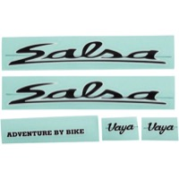Salsa Vaya Travel Decal Sets