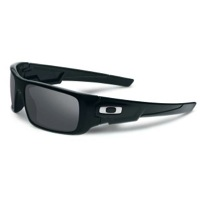 Oakley Crankshaft Sunglasses - Polished Black/Black Iridium