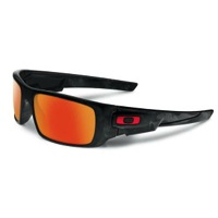 Oakley Crankshaft Sunglasses - Shadow Camo/Fire Iridium