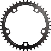 Wolf Tooth Components Drop-Stop Chainrings - 130mm BCD