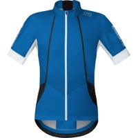 Gore Oxygen Windstopper Soft Shell Jersey - Splash Blue/White