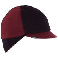 Giro Seasonal Merino Wool Cap 2020 - Red/Black