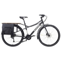 Kona Minute Complete Bike - Charcoal/Off White/Silver