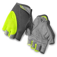 Giro Monica Gloves 2016 - Titanium/Highlight Yellow