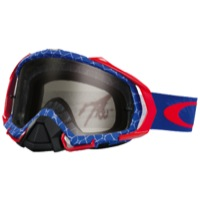 Oakley Mayhem Pro MX Goggles - Reaper Red/White/Blue