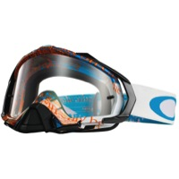 Oakley Mayhem Pro MX Goggles - Tagline Blue/Orange