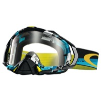 Oakley Mayhem Pro MX Goggles - Legacy Blue/Clear Lens