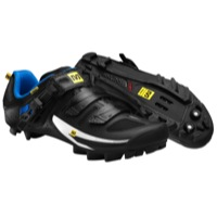 Mavic Rush Mountain Shoes - Black/White/Blue
