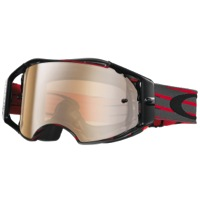 Oakley Airbrake MX Goggles - Red/Gunmetal/Black Iridium Lens