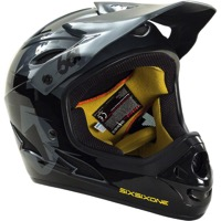 SixSixOne Comp Helmet 2015 - Black/Charcoal