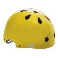 SixSixOne Dirt Lid Plus Helmet - Yellow