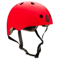 SixSixOne Dirt Lid Stacked Helmet - Matte Red