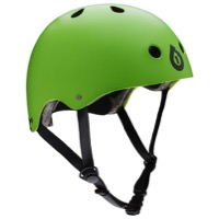 SixSixOne Dirt Lid Stacked Helmet - Matte Green
