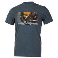 Club Ride Man Vs. Machine T-Shirt - Indigo