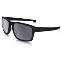 Oakley Sliver Sunglasses - Matte Black/Grey Lens