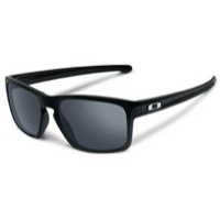 Oakley Sliver Sunglasses - Polished Black/Black Iridium Lens
