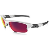 Oakley Flak Jacket XLJ Prizm Road Sunglasses - Polished White/Prizm Road Iridium Lens