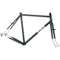 All-City Spacehorse Cantilever Frameset - Green/White