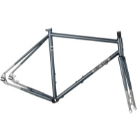 All-City Nature Boy SSXC 612 Disc Frameset 2015 - Silver Fade