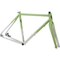 All-City Nature Boy SSXC 853 Disc Frameset 2015 - Green and White