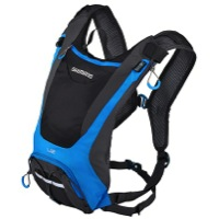 Shimano Unzen U2 Hydration Pack - Black/Lightning Blue