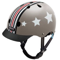 Nutcase Gen3 Little Nutty Street Sport Helmet - Silver Fly