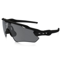 Oakley Radar EV Path Sunglasses - Matte Black/Black Iridium Lens