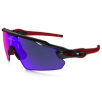 Oakley Radar EV Pitch Sunglasses - Matte Black Ink/Positive Red Iridium Lens