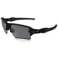 Oakley Flak 2.0 XL Sunglasses - Matte Black/Black Iridium Lens