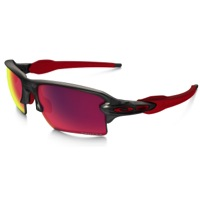 Oakley Flak 2.0 XL Prizm Road Sunglasses - Matte Gray Smoke/Prizm Road Lens