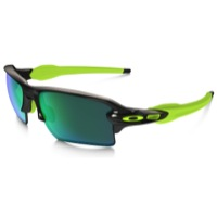 Oakley Flak 2.0 XL Polarized  Sunglasses - Black Ink/Jade Iridium Polarized