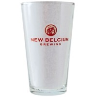 New Belgium Pint Glass