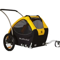 Burley Tail Wagon Dog and Pet Trailer - Yellow