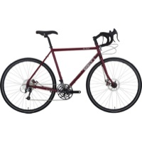 Surly Disc Trucker 700c Complete Bike - Maroon - 10 Speed