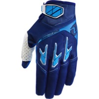 ONE Industries Atom Gloves - Navy/Cyan