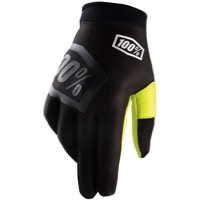 100% iTrack Gloves - Incognito Black/Yellow