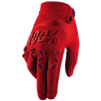 100% Airmatic Gloves - Fire Red