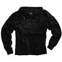 100% Syndicate Zip Hoody - Black