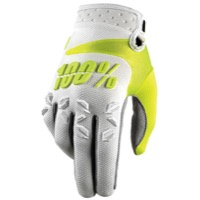 100% Airmatic Gloves - White