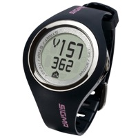 Sigma PC 22.13 Women's Heart Rate Monitor - Black