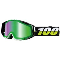 100% RaceCraft Goggles - Simbad/Mirror Green Lens