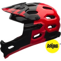 Bell Super 2R MIPS Helmets 2016 - Black/Red Aggression